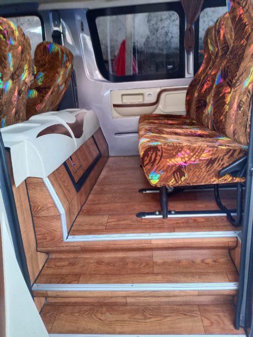 Interior minibus 12 seats