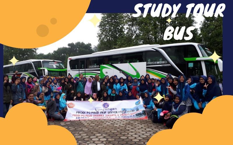 sewa bus bali study tour